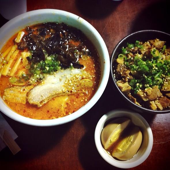 Spicy Miso Ramen @ Mitsuwa Marketplace