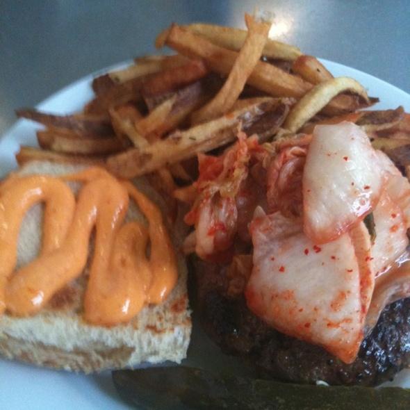 Korean Short Rib Burger @ PYT