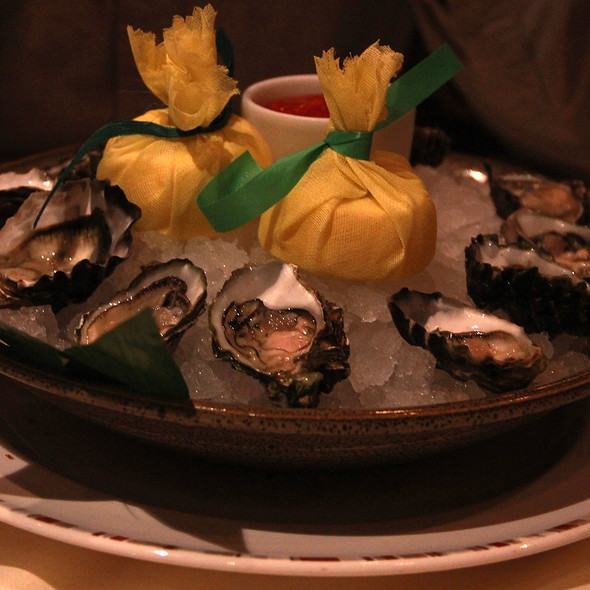 Oysters on the Half Shell @ The Oak Room at Pala Casino Spa & Resort