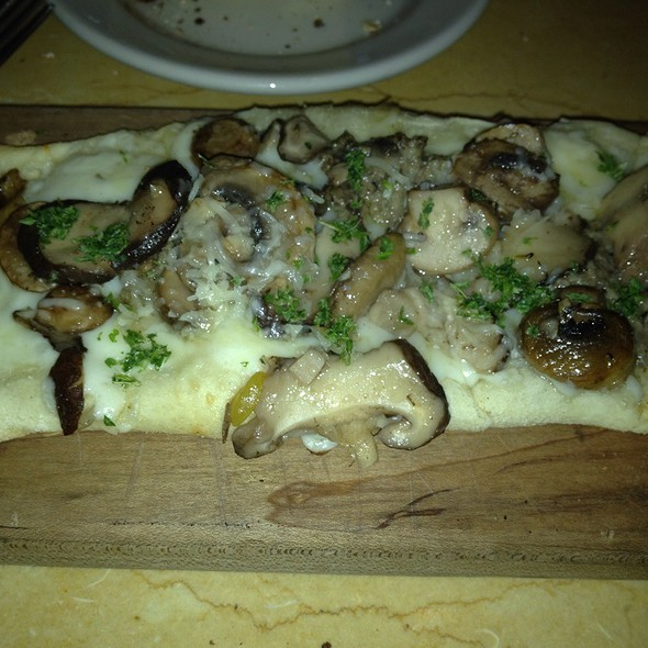 Wild Mushrooms Flat Bread