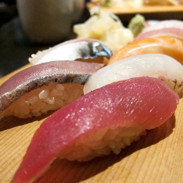 Nigiri Sushi @ Jin Sho Japanese Restaurant