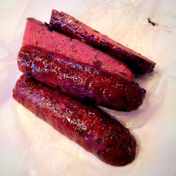 """Jalapeno Sausage @ Rudy´s """"Country Store"""" and Bar-B-Q"""