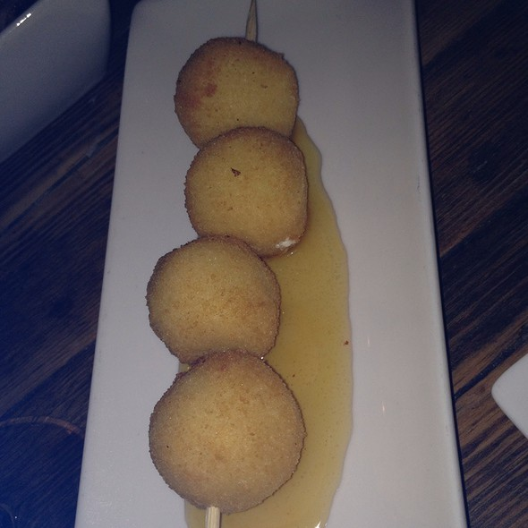 Goat Cheese Balls With Lavendar Honey @ Alta Restaurant