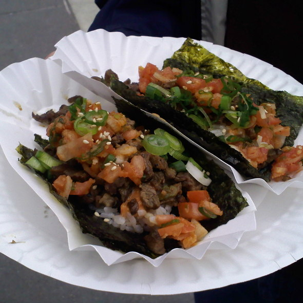 Korean Taco @ Namu (Ferry Building Farmer's Market)