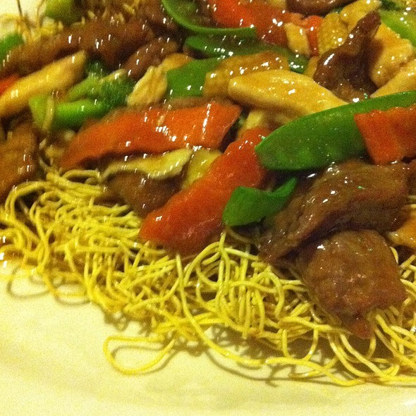 Pan Fried Noodles With Beef And Broccoli (spicy)