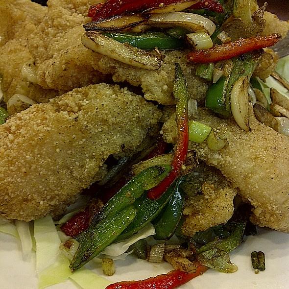 Salt & Pepper Fish @ 168 Restaurant
