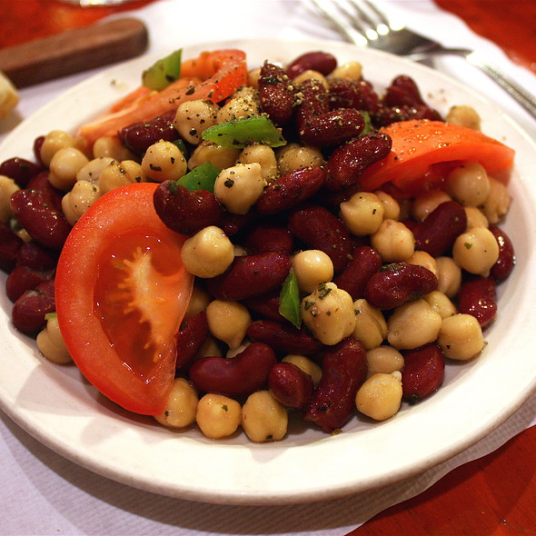 Bean Salad @ Il Pollaio