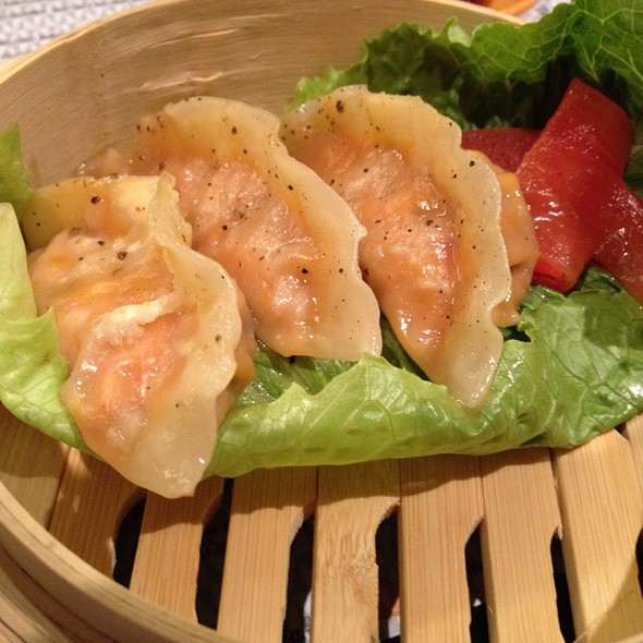 Chipotle Shrimp Dumplings @ Taka Taka