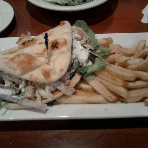 Mediterranean Chicken Wrap @ O'Charley's