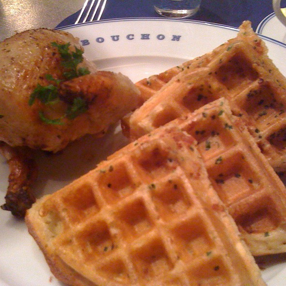 Chicken and Waffles @ Bouchon