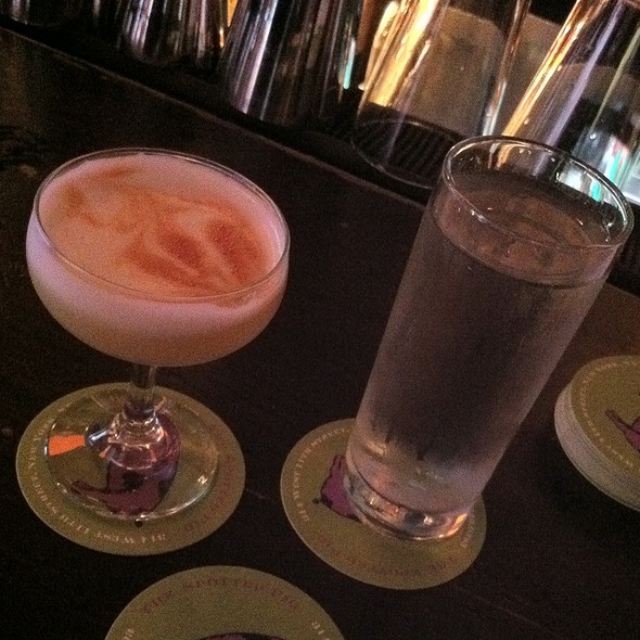 Ceviche and a Pisco Sour @ The Spotted Pig