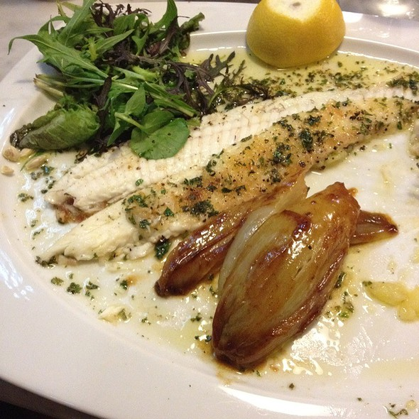 Filet of Dover sole with Belgian endives @ restaurant de l'Ogenblik