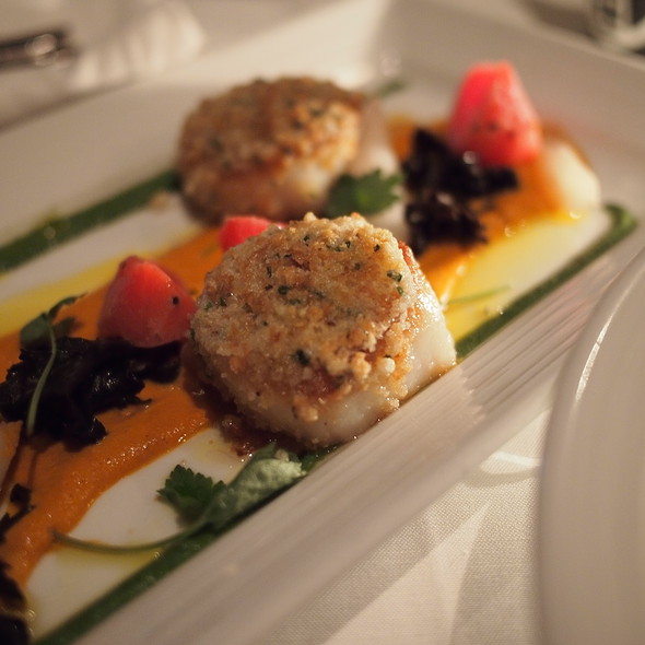 Hazelnut Crusted Sea Scallops @ Atlantic Grill at Lincoln Center