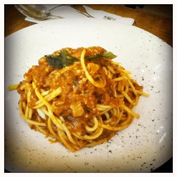 Spaghetti Amatriciana @ Bacci