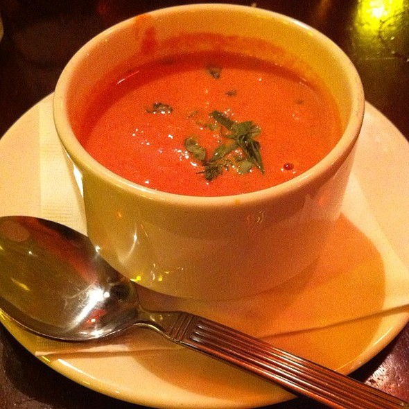 Tomato Basil Soup @ Not Your Average Joes