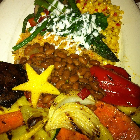 Marthas Vegetable Plate - Reata, Fort Worth, TX