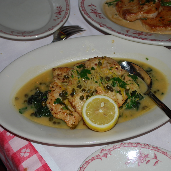 Maggiano 39 S Little Italy Chicken Piccata Foodspotting