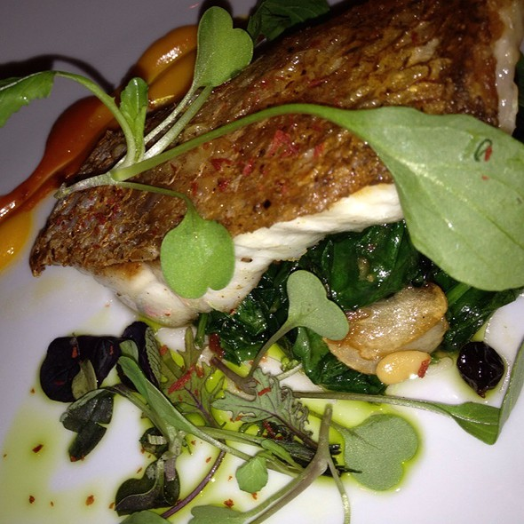Red Snapper - Marcel's by Robert Wiedmaier, Washington, DC