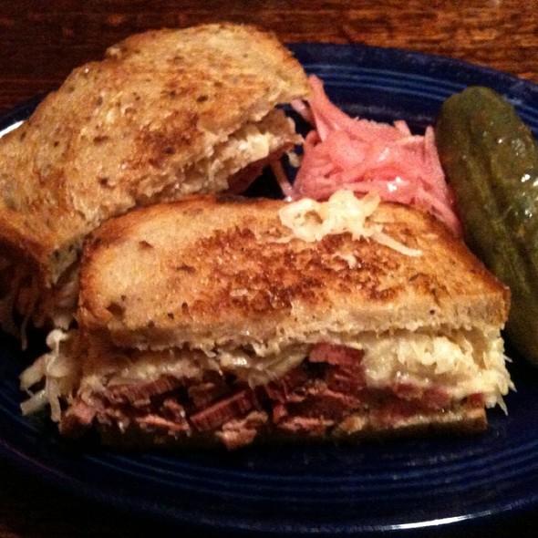 Pastrami Sandwich @ The REFUGE
