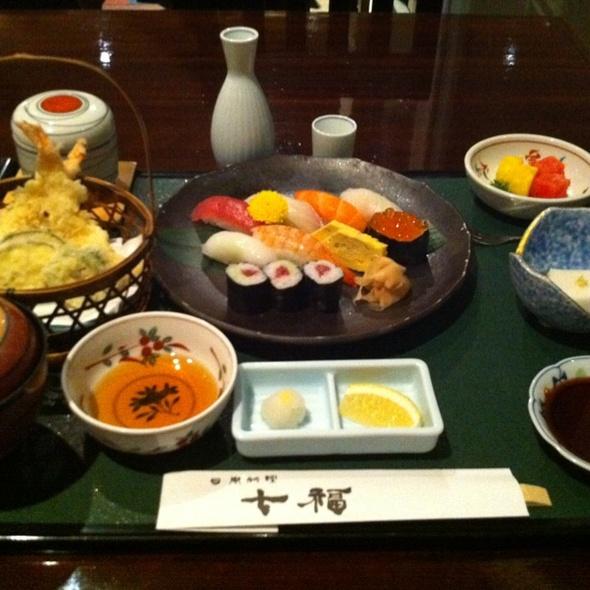 Sushi Set @ Shichifuku @ Rizzan Hotel