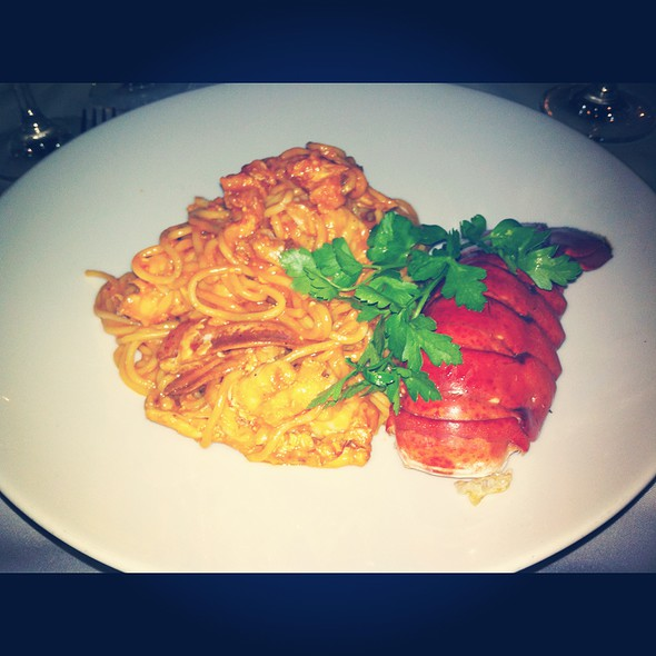 Lobster Pasta @ Milos Restaurant