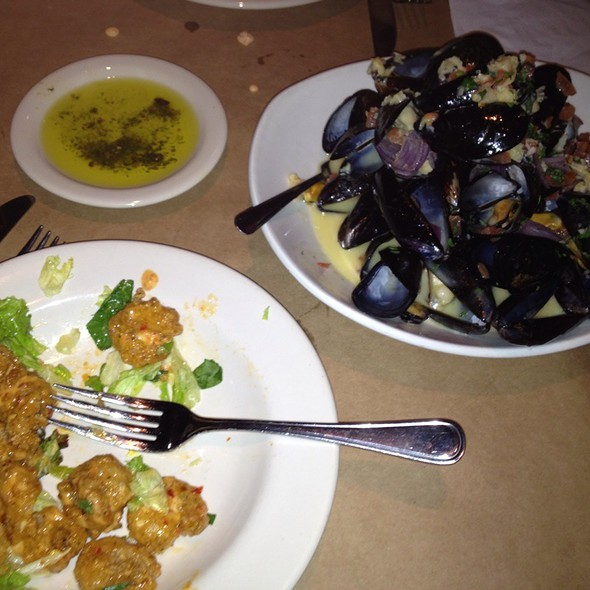 Mussels in White Wine Sauce @ Bonefish Grill - Columbus