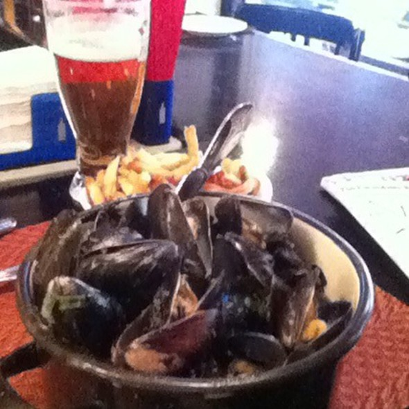 Steamed Mussels @ Jacques Restaurant