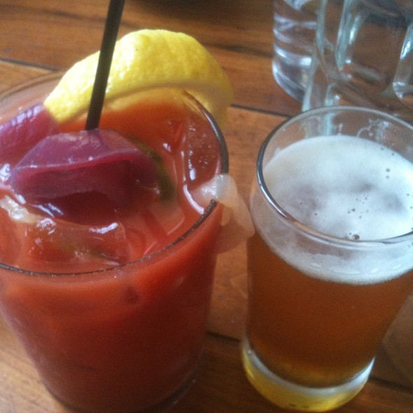 Spicy Bloody Mary @ The Publican