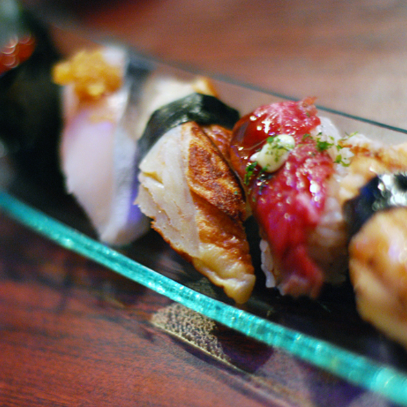 Nigiri Sushi @ Blowfish Sushi Lounge