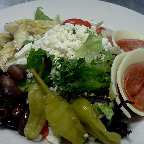Italian Antipasti Salad w/feta @ Piesanos