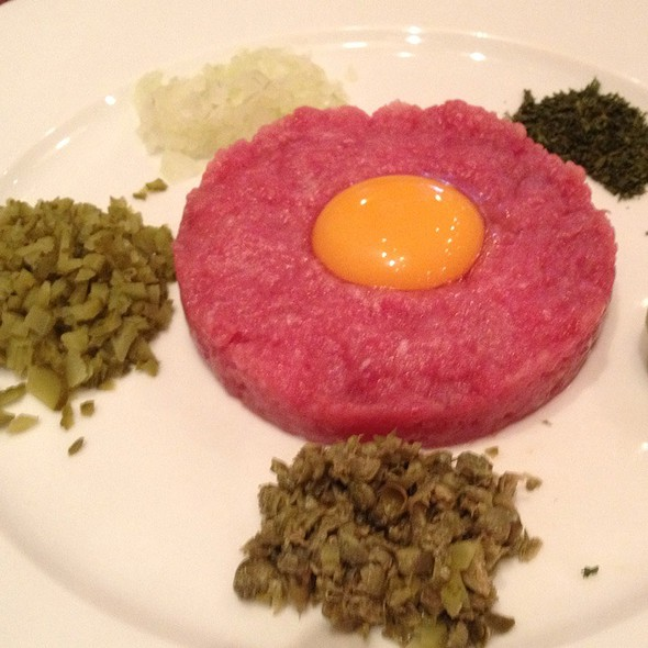 Steak Tartare With Quail Egg
