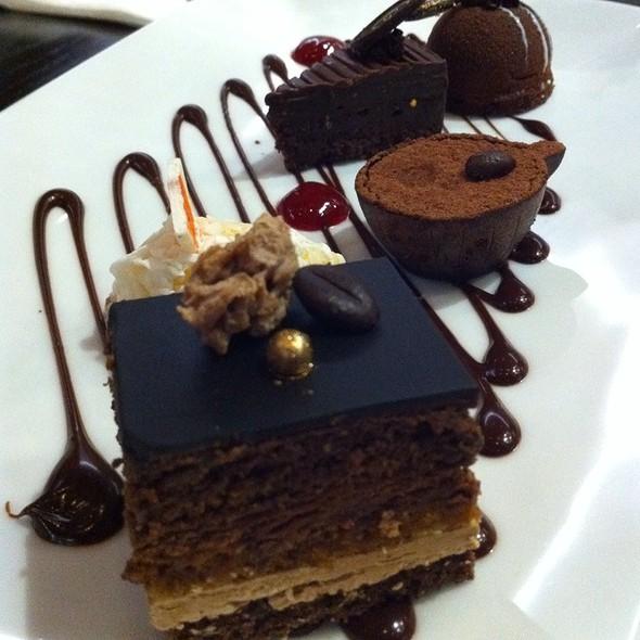 Chocolate Tasting Plate @ Guylian Belgian Chocolate Cafe