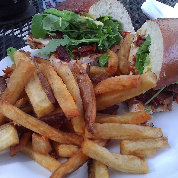 Chicken BLT with Avocado @ Ziggy's Bar and Grill Montrose