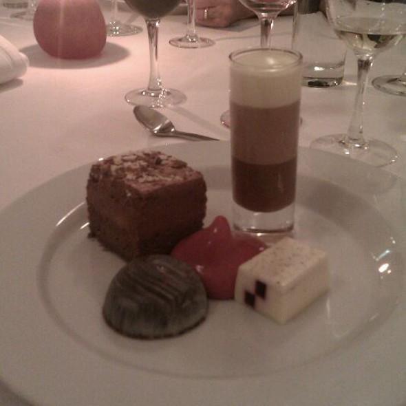 Chocolate Dessert @ Varna Palæ