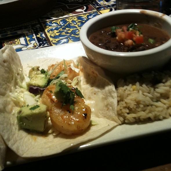 Shrimp Tacos @ Chilis