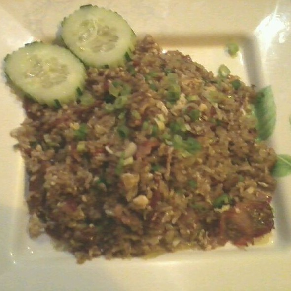 Bbq Pork Fried Rice @ Naradeva Thai Restaurant
