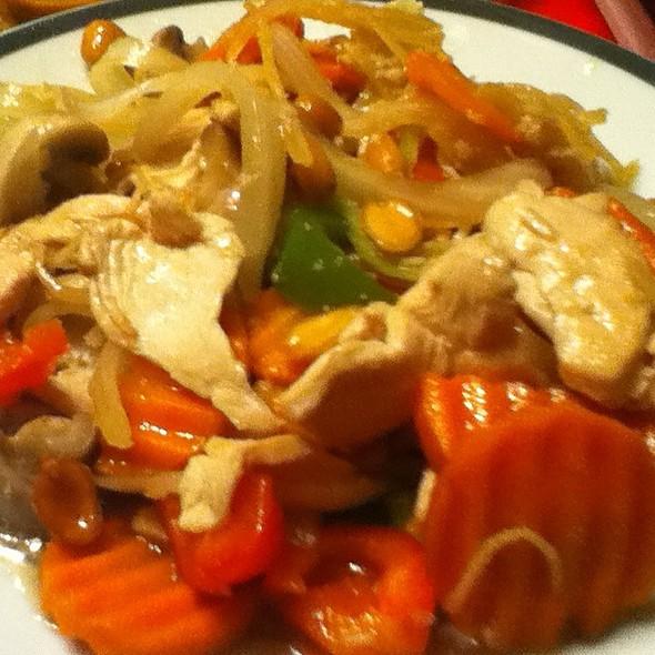 Spicy Chicken Stir Fry @ Su Kho Thai cuisine