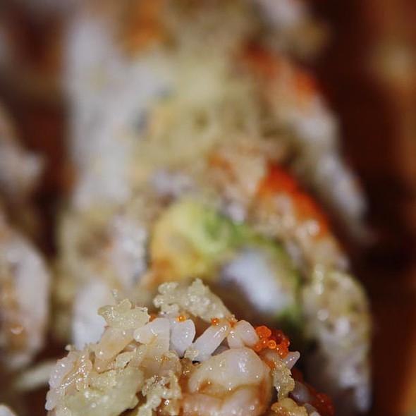 Shrimp tempura roll @ Wasabi Sushi Bar