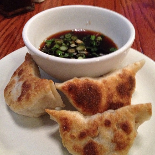 Pan Fried Dumplings @ XO Taste Restaurant