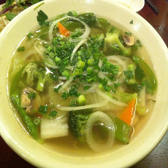 Vegetarian Pho @ Pho & More Vietamese & Thai
