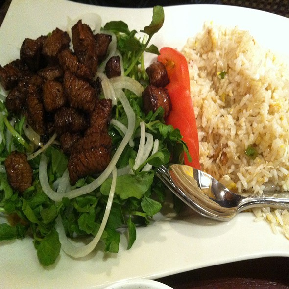 Steak @ Pho & More Vietamese & Thai