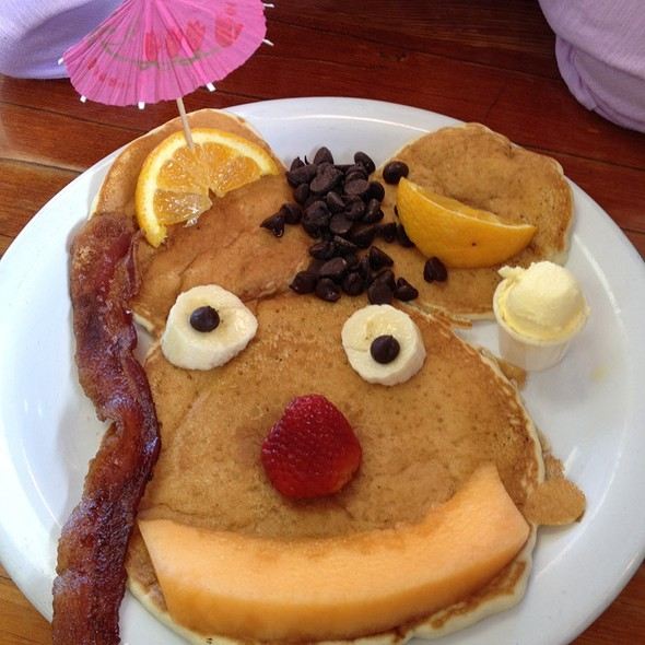 Kid's Pancake @ Salmon Bay Cafe