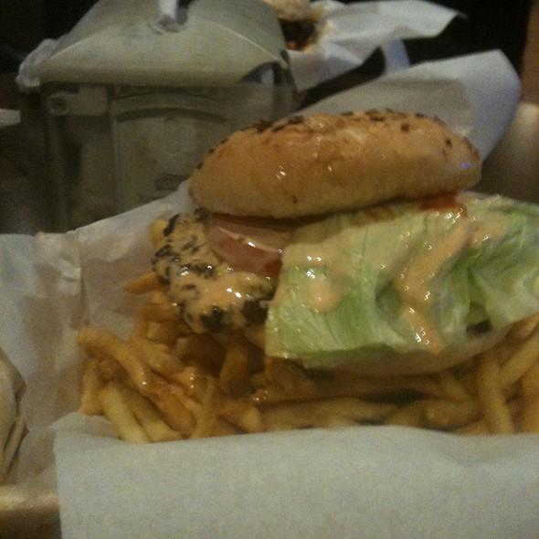 Awful Awful Burger W/ Fries @ Awful Awful