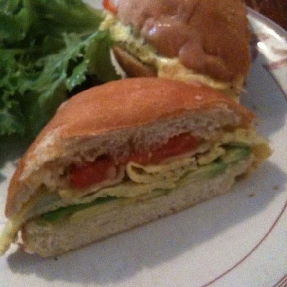 egg sandwich @ Ted & Honey