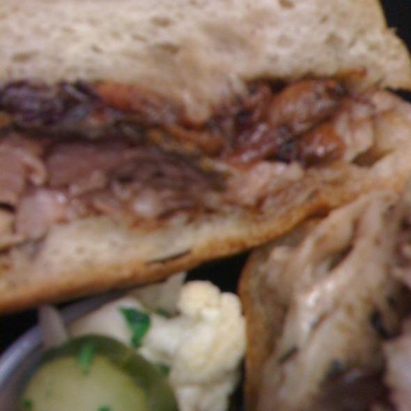 Porchetta Sandwich @ barbacco