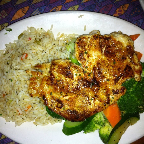 Grilled Chicken Dinner @ Fish City Grill