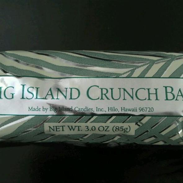 Big Island Candies Chocolate Bar