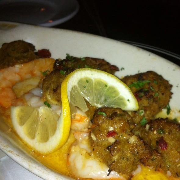 Crab Stuffed Shrimp @ Riverbend Restaurant and Bar