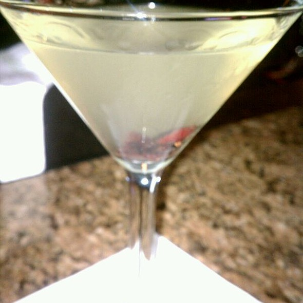 White Cosmo with Patron Silver - Trumbull Kitchen, Hartford, CT