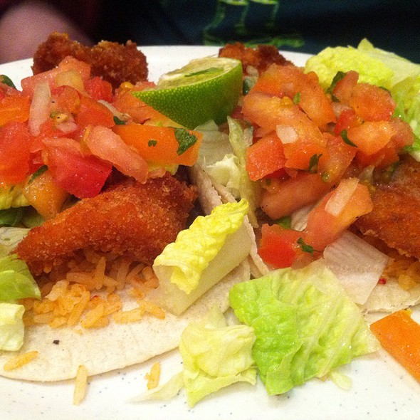 fish tacos @ El Metate Restaurant